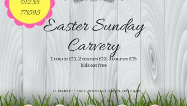 Easter Sunday Carvery